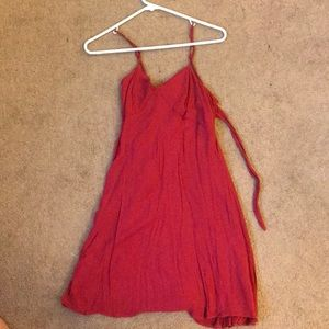 Red Mini Sundress